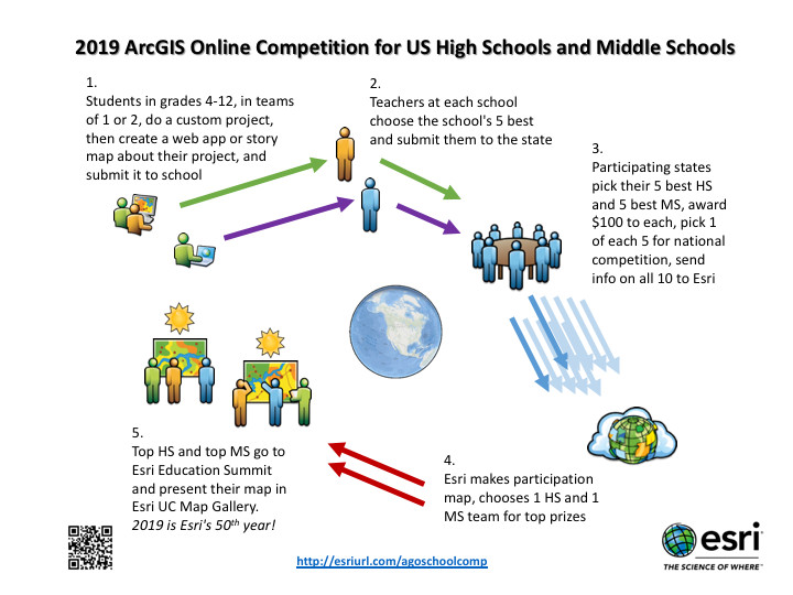 2019 Online Map Competition for Secondary Students